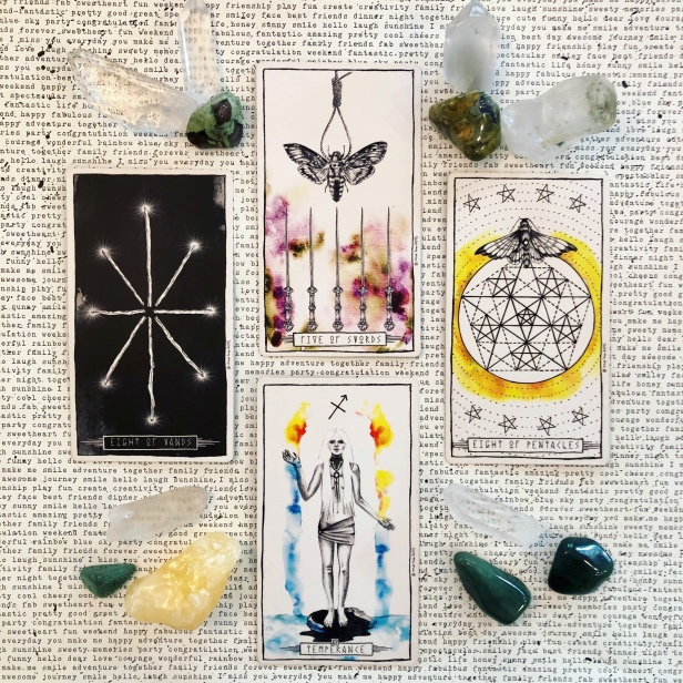 Speed Up Ahead! A Reading for Humanity – Mantis Tarot